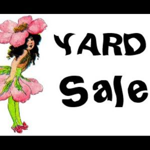 End of yard sale items